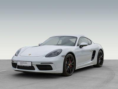 gebraucht Porsche 718 Cayman S 2.5 Sportabgasanlage PASM BOSE 20-Zoll