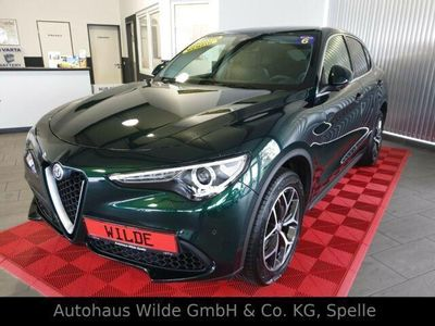 gebraucht Alfa Romeo Stelvio Super Q4 AWD Leder Navi Abstandstempomat