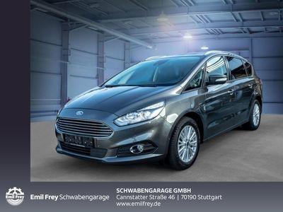gebraucht Ford S-MAX 1.5 Eco Boost Business 7-Sitzer Navi FGS