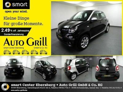 gebraucht Smart ForFour 66 kW Passion PanoDa PDC SHZ DAB