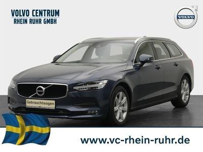 gebraucht Volvo V90 Kombi Momentum D4 Leder LED Navi Keyless Kurvenlicht Parklenkass. Rückfahrka