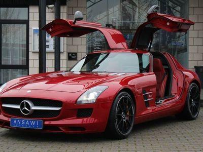 gebraucht Mercedes SLS AMG Exclusiv-rot Keramik Carbon B&O-High-End