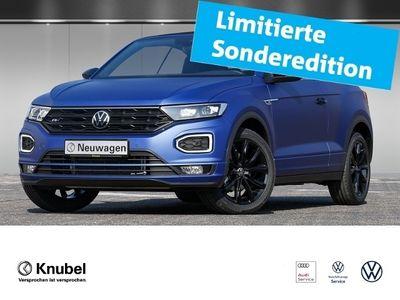 gebraucht VW T-Roc Cabriolet Edition Blue 1.5 TSI DSG AHK LED Navi