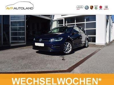 gebraucht VW Golf VII 1.5 TSI ACT BMT R-Line | LED schwarz