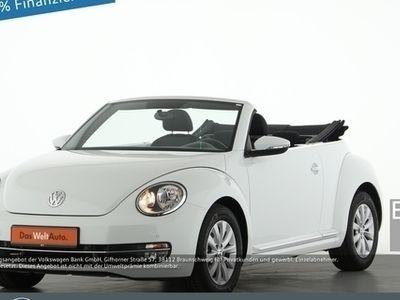 usado VW Beetle Cabriolet 1.2 TSI Design PDC SHZ EU6 - Klima,Sitzheizung,Alu,Servo,