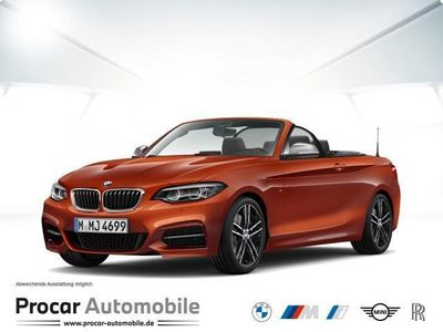 gebraucht BMW M240 Steptronic Cabrio Navi LED Open Air Navi