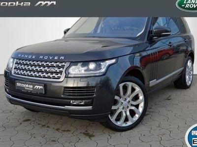 gebraucht Land Rover Range Rover VOGUE 22' EU6 AHK Leder NAVI 4xSHZ