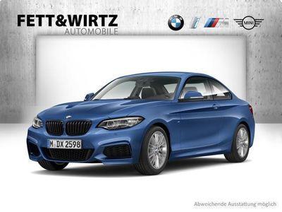 gebraucht BMW 218 i Coupe MSport Navi HiFi PDC SHZ