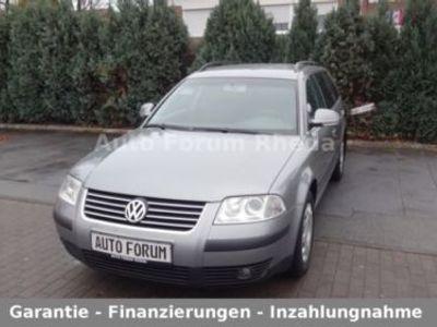 gebraucht VW Passat Comfortline Family 2.0-Klimaauto-