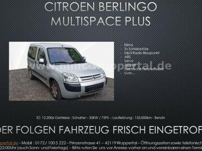 gebraucht Citroën Berlingo 1.4 Bivalent Multispace Plus 2xSchiebet