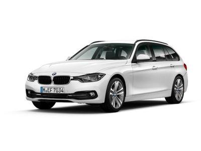 gebraucht BMW 318 d Touring Sport Line Navi LED 18'' Alu HiFi