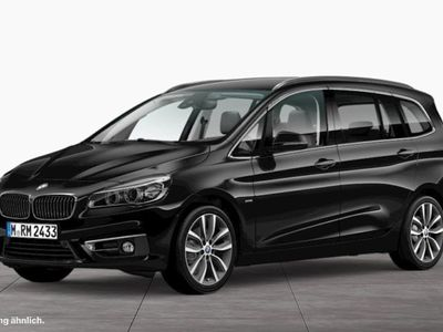 gebraucht BMW 218 Gran Tourer d Luxury Line AHK Navi LED PDC