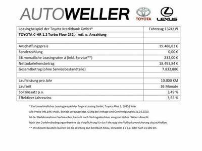 gebraucht Toyota C-HR 1.2 TurboFlow*Abst.tempomat
