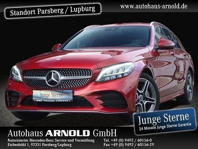 gebraucht Mercedes C300 T AMG Line Navi LED Kamera Spur-P. Sitzh.