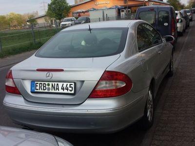 gebraucht Mercedes CLK280 7G-TRONIC Elegance LEDER, SCHECKHEFT