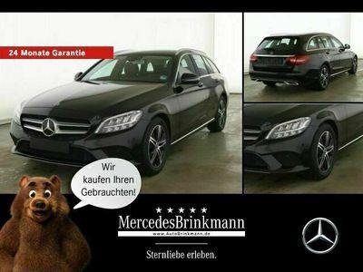 gebraucht Mercedes C180 T AVANTGARDE EXTERIEUR/LED/SHZ/KLIMA Parktronic