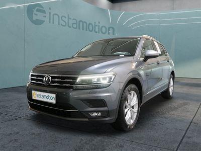 gebraucht VW Tiguan Allspace Tiguan2.0TDI DSG Highline AHK 7-Sitze NAVI LED