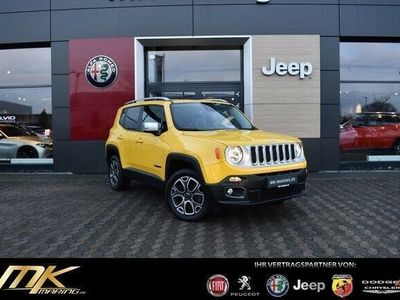 gebraucht Jeep Renegade Limited 2.0 4WD AUTOMATIK*NAVI*GARANTIE