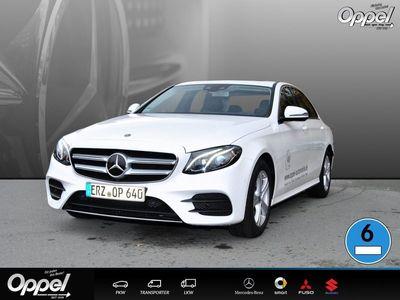gebraucht Mercedes E200 4MATIC Limousine NAVI+SCHIEBED.+LED+SITZH.