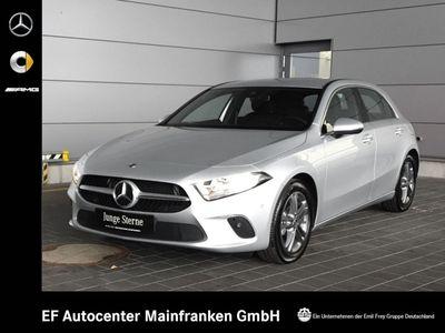 gebraucht Mercedes A200 7G-DCT Progressive+PremiumNavi/MBUX+Totwinkel