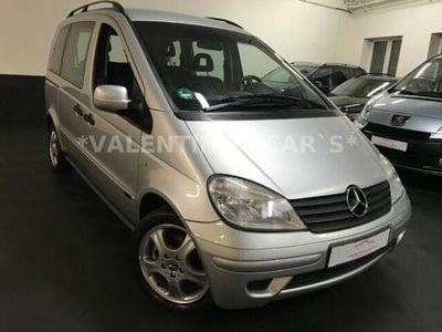 gebraucht Mercedes Vaneo Compact Van 1.7 CDI/grüne Plakette/Automat