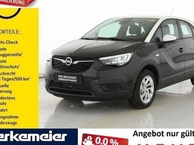 gebraucht Opel Crossland X 1.2 EditionAT Navi/LED/Park-Assistent