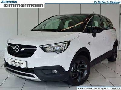gebraucht Opel Crossland X 1.2 '120 Jahre' Dach schwarz - Klima - Sitzheizung