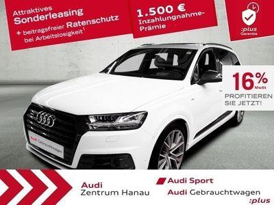 gebraucht Audi Q7 50 TDI 3xS-LINE*UPE110T*MATRIX*7-SITZER*STHZ*