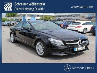 gebraucht Mercedes CLS350 d 4M Coupé Multibeam 360Kam eGSHD Spur