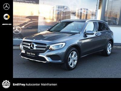 gebraucht Mercedes GLC250 d 4M Exclusive+Spur+Navi+ILS+Shz+EasyPack