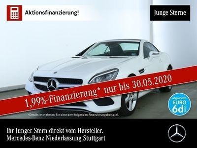 gebraucht Mercedes 200 SLCPano ILS LED Navi Airscarf Totwinkel PTS