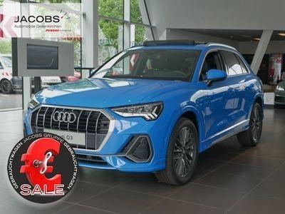 gebraucht Audi Q3 S line 45 TFSI quattro S-tronic Matrix LED, Pan