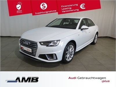 gebraucht Audi A4 Limousine sport 40 TDI 140 kW (190 PS) S tronic