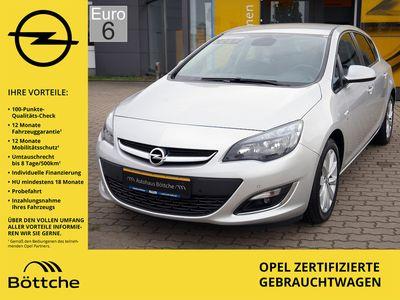 gebraucht Opel Astra 1.4 Turbo STANDHEIZUNG KLIMAAUTOMATIK