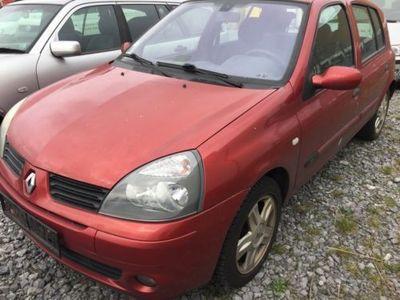gebraucht Renault Clio 1.2 16V *Klima* TÜV 07/18* Euro4* ALU* Motorproblem*
