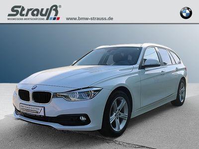 gebraucht BMW 318 d Touring Advantage EURO 6 LED Navi Bus. Komfortzg.