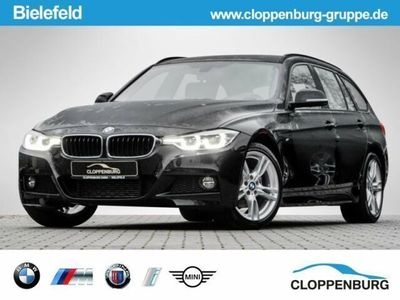 gebraucht BMW 320 d M Sportpaket Navi Led SHZ Aut Klimaa Temp L