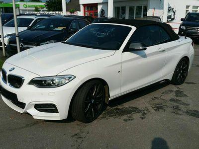 gebraucht BMW M235 M2 Baureihe 2 Cabrio*M*NAVI*Leder*Harm/Kard
