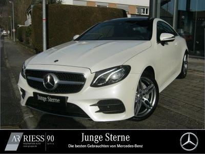 gebraucht Mercedes E220 4M Cp AMG Sport Com LED Pano Kamera Umwe