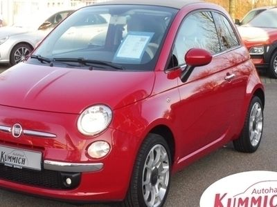 gebraucht Fiat 500C 1,2 8V Lounge mit Klima *Euro6*