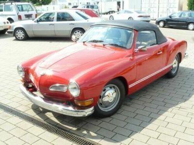usado VW Karmann Ghia Cabrio, Schalter, Historie belegbar