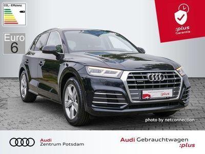 gebraucht Audi Q5 2.0 TDI quattro S line LED AHK Luft Virtual