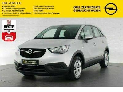 gebraucht Opel Crossland X EDITION AUTOMATIK+NAVI+FRONTKAMERA+SITZHEIZUNG+TEM
