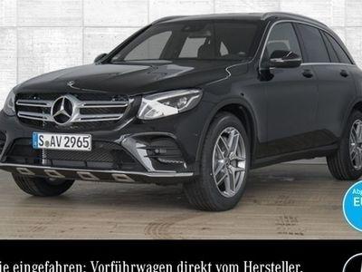 gebraucht Mercedes GLC250 4M AMG Park Totwinkel Navi AHK LED