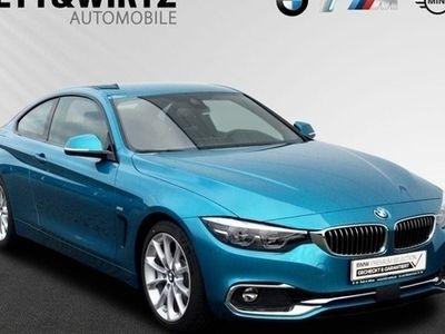 käytetty BMW 430 i Coupe Luxury Line DriAssist. HUD LED HiFi