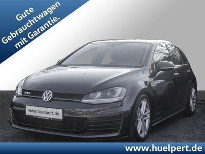 gebraucht VW Golf VII GTD Xenon Navi Sitzhzg. Alu 17 AHK (Einparkhil