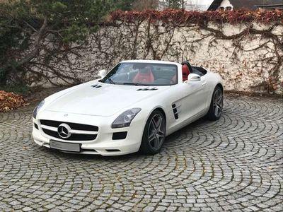 gebraucht Mercedes SLS AMG Roadster AMG SPEEDSHIFT DCT/Service+Reifen NEU
