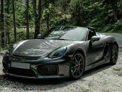 gebraucht Porsche Boxster Spyder - Sammlerstück