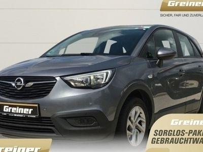 gebraucht Opel Crossland X 1.2 Edition KLIMA | SHZ | LRHZ | PDC