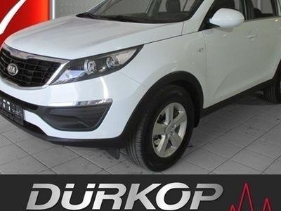 gebraucht Kia Sportage 1.7 CRDI 2WD Klimaautomatik Alu CD/MP3